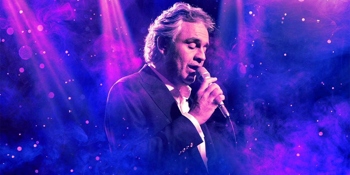 ingressos show Andrea Bocelli