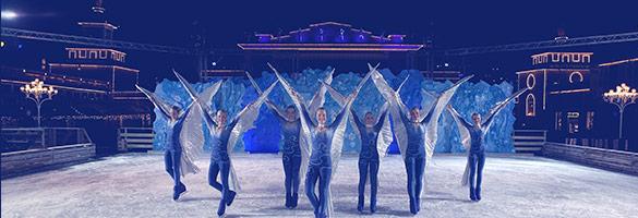 imagen boletos disney on ice sobre hielo
