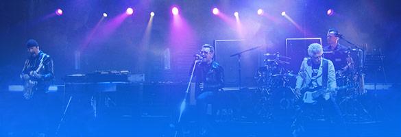 ingressos show U2