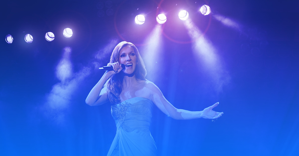 ingressos show Celine Dion