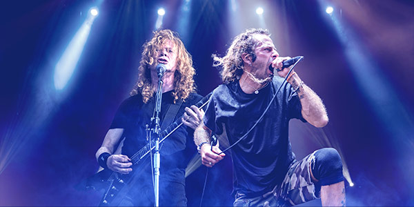 megadeth concierto virtual live stream