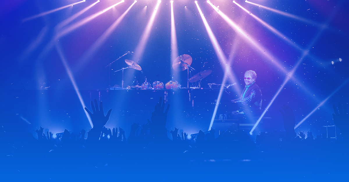 ingressos show Elton John