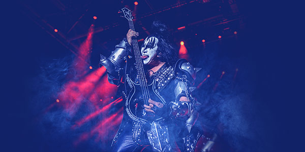 kiss concierto virtual live stream