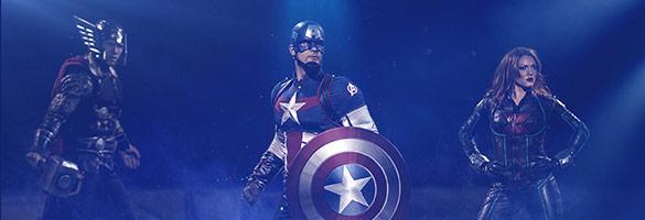 imagen boletos Marvel Universe Live