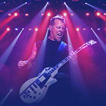 ingressos shows Metallica
