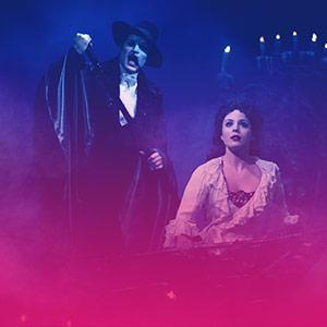 imagem ingressos Phantom of the Opera
