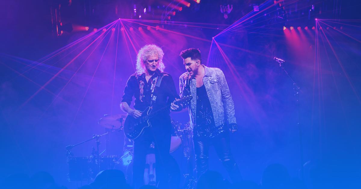 ingressos show Queen & Adam Lambert